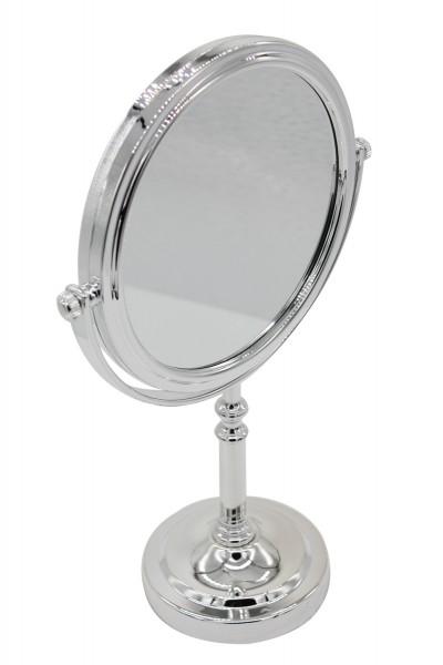 kosmetikspiegel, Der doppelseitige und eleganz Kosmetikspiegel mit klassischer und 10 facher Vergrö