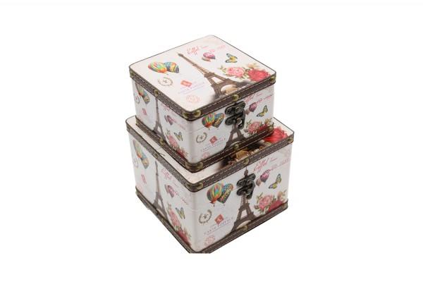 Schatzkiste, Geschenkbox, Schatztruhe 2er Set