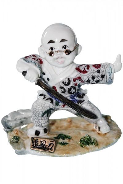 Gongfu Figuren 8 tlg. Set ca. 9cm