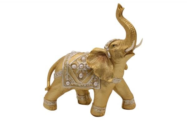 Deko Figur Elefant H28cm