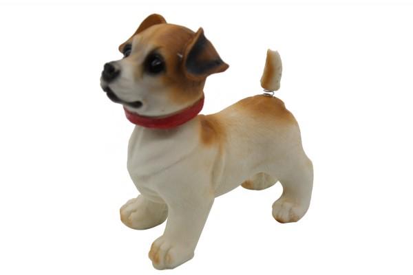 Bewegliche Hunde Figur Wackeldackel Wackelkopf