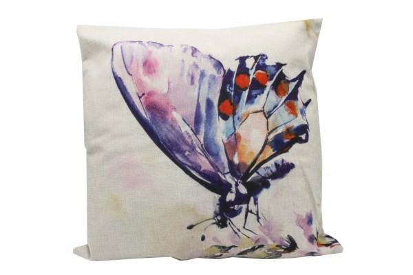 Kissenbezug, Kissenhülle, Sofa Bett Home Dekor Kissen, `schmetterling` Maße:44x44 cm,