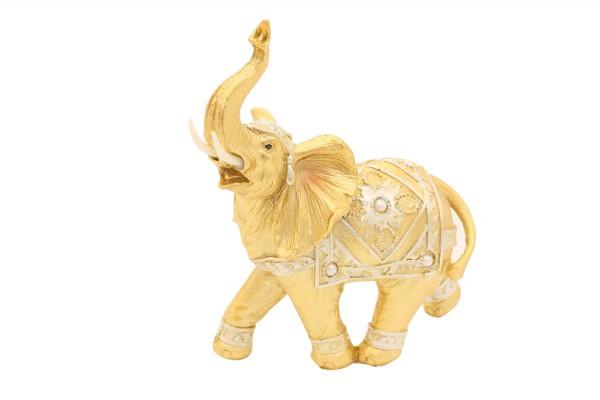 Deko Figur Elefant H23cm