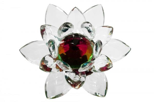 Kristall Lotus 40 d10cm