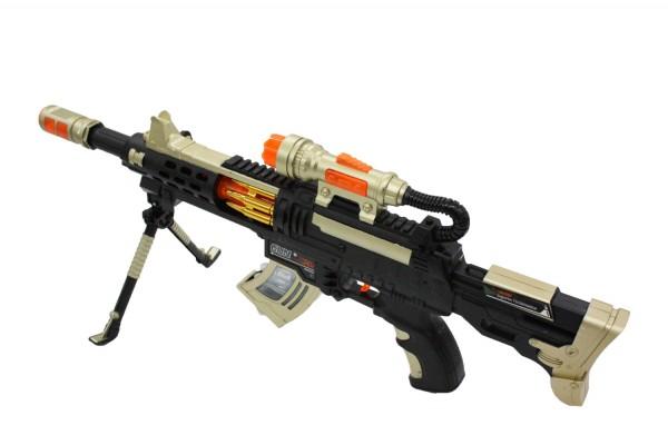 Spielzeug-Gewehr mit Licht- und Sound-Effekten