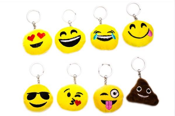 """Kissen Emoticon """" Schlüsselanhänger"""
