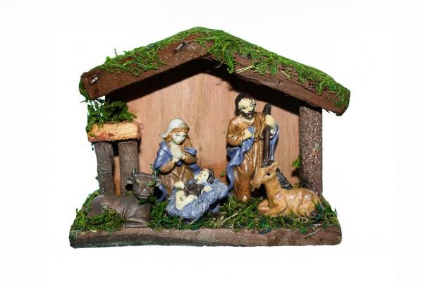 Weihnachts Dekoration, Weihnachtskrippe