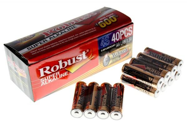 "Alkaline Batterie Robust AA 7"" 1,5V"