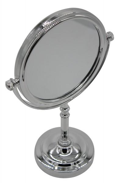 kosmetikspiegel, Der doppelseitige und eleganz Kosmetikspiegel mit klassischer und 10 facher Vergröß