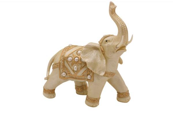 Deko Figur Elefant H27cm