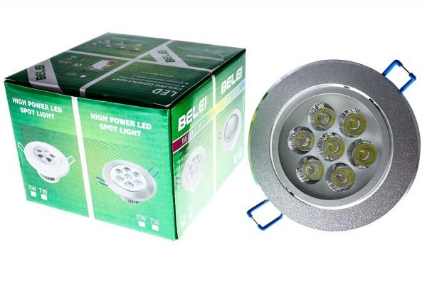 Decke LED Lampe 7X1W 120-260V