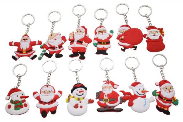 Schlüsselanhänger Weihnachtsmann