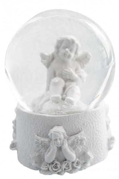 Schneekugel Engel,Dekofiguren, Home Affaire