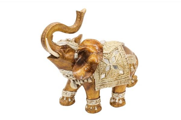 Glück Reichtum Elefant L23xH28cm