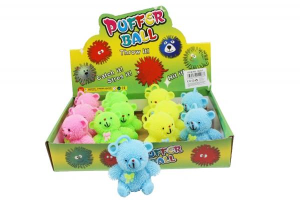 Puffer Teddybär in bunten Farben