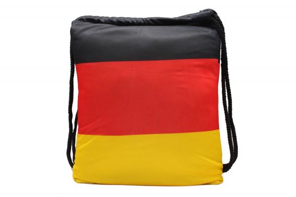 Turnbeutel, Gymsack, Gym Bag, Sportbeutel, 'Deutschland' 32*45cm
