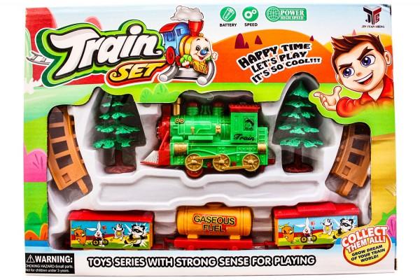 Eisenbahn mit Musik Led Leuchtung L30cm b22cm