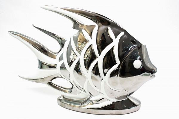 Keramik Fisch H22B33cm