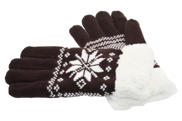 Herren Fingerhandschuh, Winterhandschuh, Touchscreen-kompatibel