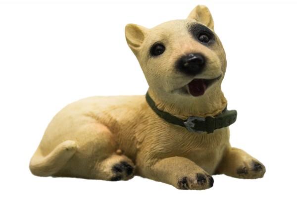 liegend Hund 4 Modell L ca.7cm
