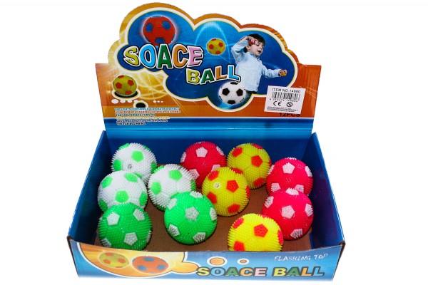 Fussball mit led Ball 12er in ein Display Durchnitt 6.5cm