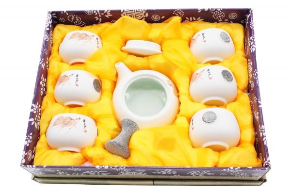8 tlg Tee Set in Geschenkbox