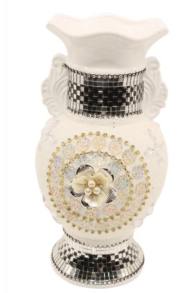 Edles Design Deko Vase H 30X B15cm,