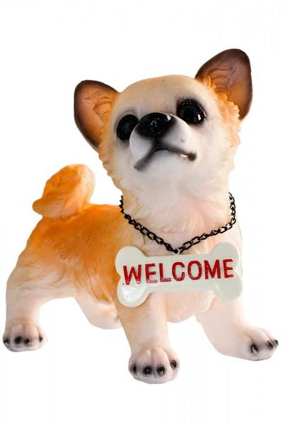 Hund 4 Modell aus Polyresin H20cmXB16cm