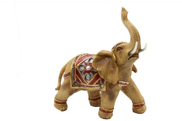 Glück Reichtum Elefant h32Xb31cm