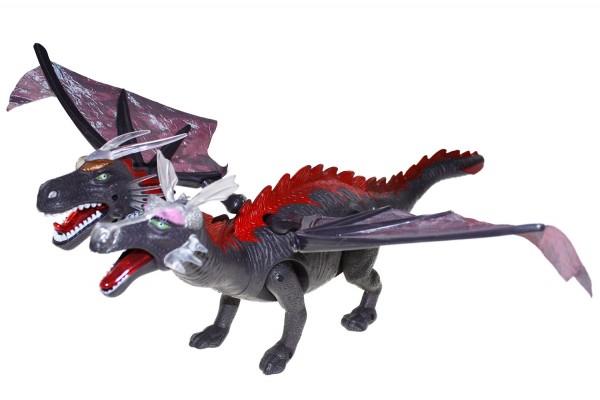 Dinosaurier Mit Sound und Led Beleuchtung 55x46cm
