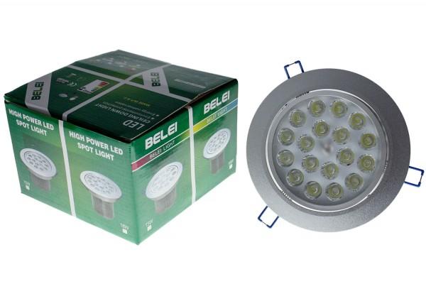 LED Strahler Lampe 18x1W 110-240V