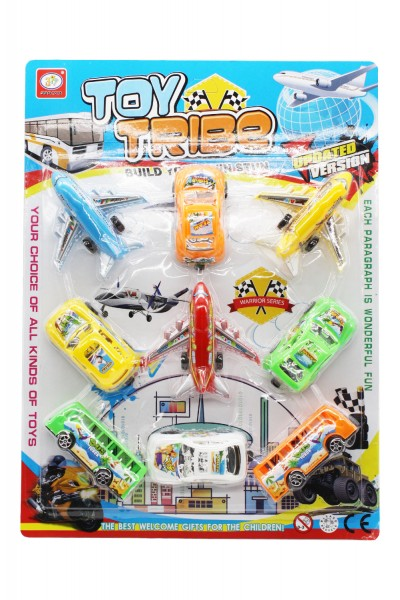 Spielzeug Verkehrsmittel Set