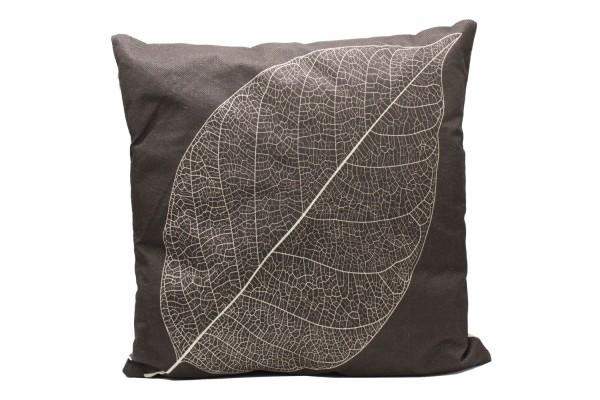 Kissenbezug, Kissenhülle, Sofa Bett Home Dekor Kissen, `Baumblätter` Maße:44x44 cm,