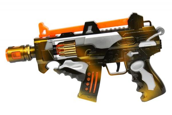Spielzeuggewehr mit Leucht- und Soundeffekten