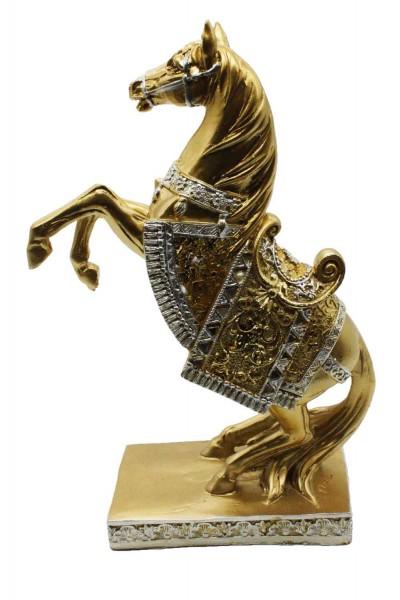 Goldene Pferde Figur H:38