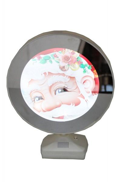 Spiegelbilderrahmen für Rundfoto d=17,5cm