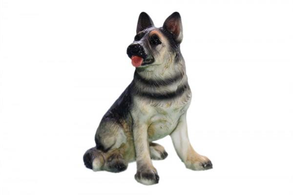 Schaeferhund 4 Modell sortiert h 7-9 cm