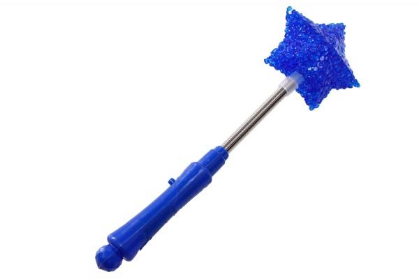 Leuchtstab Partyartikel Stern L24cm