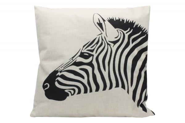 Kissenbezug, Kissenhülle, Sofa Bett Home Dekor Kissen, `Zebra