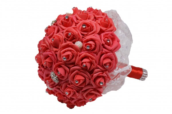 Blumenstrauß aus Foamrosen