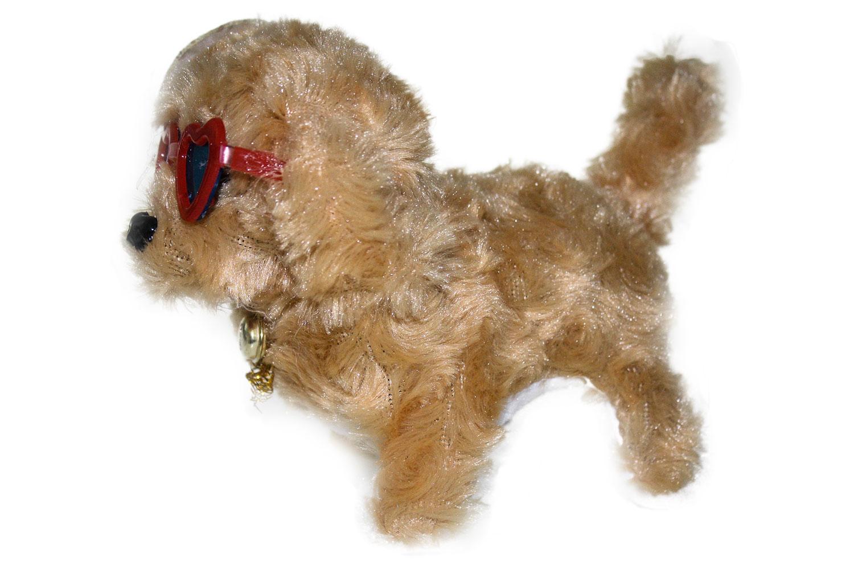 Hund mit brille bellt und läuft mass cm geschenke