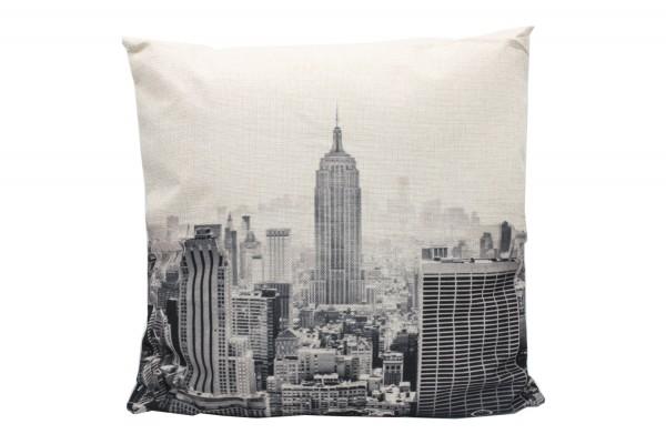 Kissenbezug, Kissenhülle, Sofa Bett Home Dekor Kissen, `city` Maße:44x44 cm,