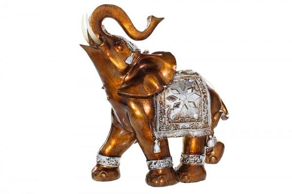 Elefanten aus Polyresin glanz Lackierung h40cm b13