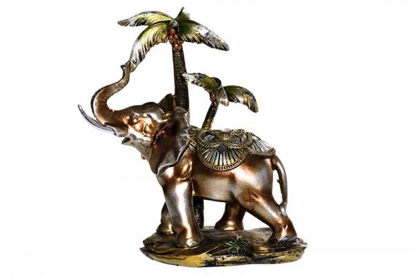 Elefant aus Polyresin b18cm h22cm