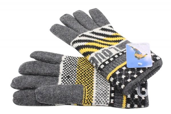 Strick Handschuhe mit Futter