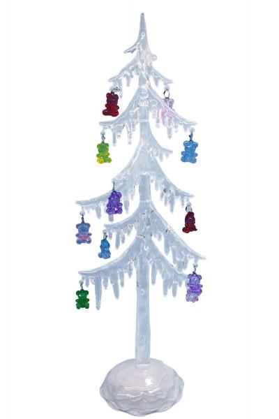 weihnachtsbaum aus acryl weihnachten wohnen. Black Bedroom Furniture Sets. Home Design Ideas