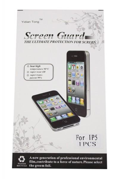 Schutzfolie für iPhone 5/5s