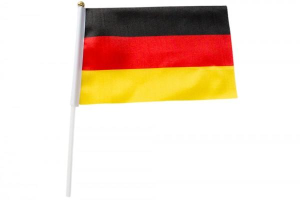 Deutschland Hand-Flagge 21X14 cm