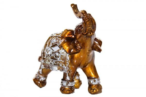 Elefant aus Polyresin h11cm b4cm