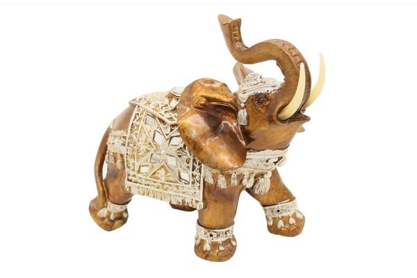 Glück Reichtum Elefant L20xH23cm